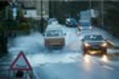 Roads closed by flooding in West Country this evening
